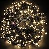 Новогодняя гирлянда 200 LED, IP44, Длина 14 М, Белый холодный свет, фото 6