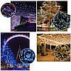 Новогодняя гирлянда 500 LED, IP44, Длина 38 М, Голубой свет, фото 6