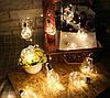 "Новогодняя гирлянда ""Лампочки"" 100 LED IP44, фото 5"