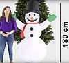 Надувной Снеговик 1,8 M, фото 5