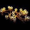 Новогодняя гирлянда 30 LED, Белый теплый свет, 5,8 м, фото 5