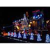 Новогодняя гирлянда штора 600 LED 15 м, фото 2