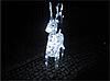 Новогодняя акриловая статуя олень Большой  RENIFER, Светящиеся новогодние олени 100 LED, фото 3