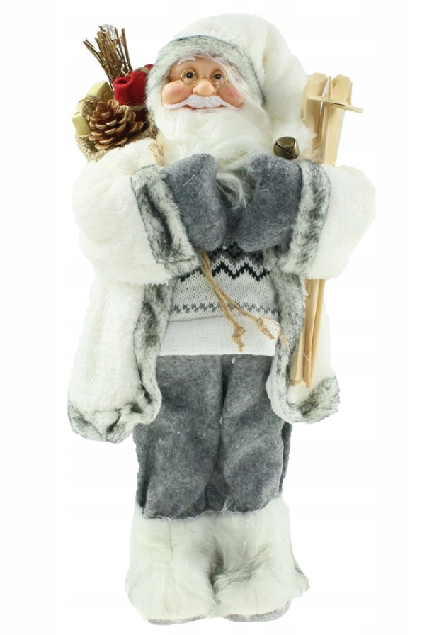 Новогодняя инсталяция фигурка Санта Клауса 90 см