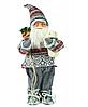 Новогодняя инсталяция фигурка Санта Клауса 90 см, фото 5