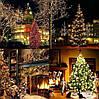 Новогодняя гирлянда 14,5 м 200 LED (Теплый белый цвет), фото 8