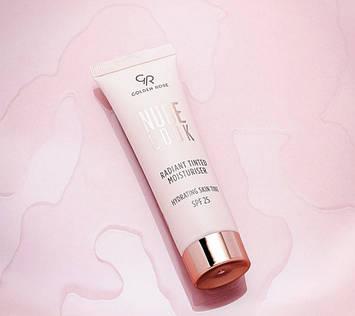 Golden Rose Тональний крем Nude Look Radiant Tinted Moisturiser SPF25