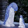 """Новогодняя скульптура """"Пингвины"""" 50 LED, Высота украшения 40 см, фото 4"""