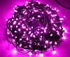 Новогодняя гирлянда 100 LED,Розовый , Длина 8 Метров, фото 2