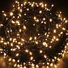 Новогодняя гирлянда 200 LED, Длина 16m, Желтый свет, фото 2