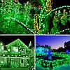 Новогодняя гирлянда 300 LED, IP44, Длина 24 М, Зеленый свет, фото 4