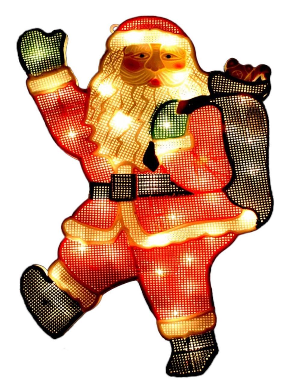 """Новогодняя гирлянда """"Дед Мороз"""" 35 LED"""
