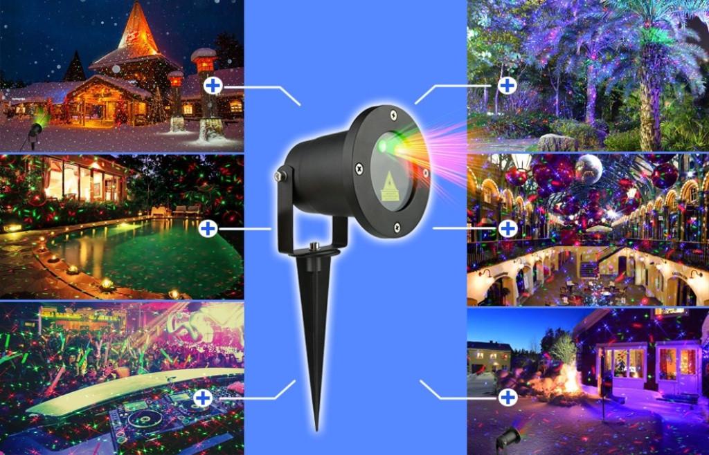 Лазерный проектор STAR SHOWER 12в1