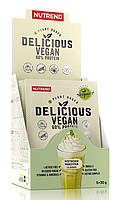Nutrend Delicious Vegan 60% Protein 5x30g