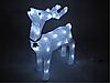 Новогодняя акриловая статуя олень RENIFER, Светящиеся новогодние олени 24 led, фото 2