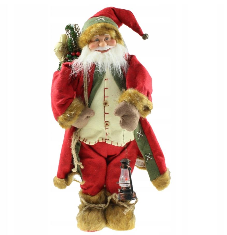Новогодняя инсталяция фигурка Санта Клауса 70 см