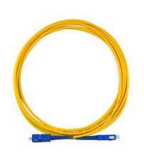 Патчкорд оптичний SC / UPC-SC / UPC 3.0mm 3 м (made in China), 5 штук в упаковці, ціна за 1 шт