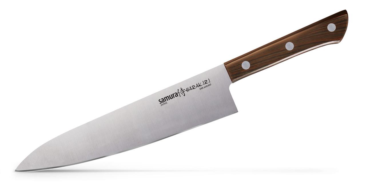 Нож кухонный Шеф Samura Harakiri, 208 мм