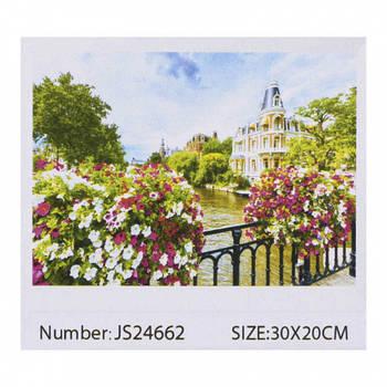 Алмазная мозаика JIA TU TOY C 43833 / JS 24662 20 х 30 см