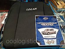 Авточохли на Renault Logan,авточохли Престиж на Рено Логан
