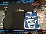 Авточехлы Prestige на Renault Logan,авточехлы Престиж на Рено Логан, фото 4