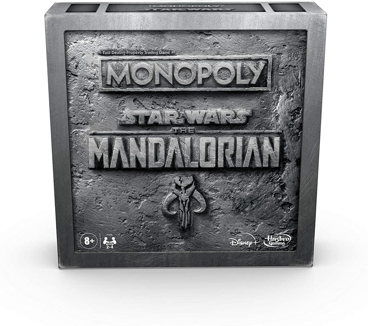 Настольная игра Monopoly: Star Wars The Mandalorian Edition (Монополия: Звёздные война. Мандалорец)