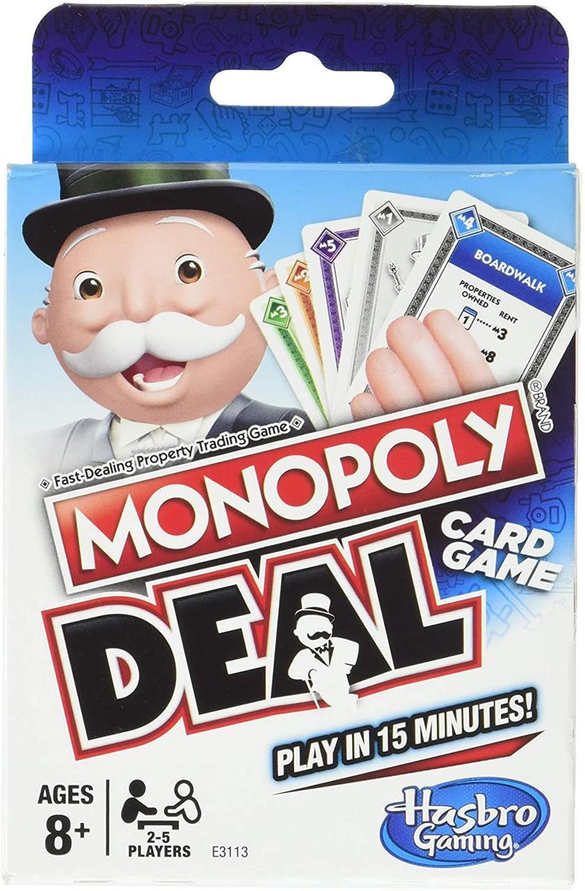 Настольная игра Monopoly Deal. Card Game (Монополия Сделка. Карточная игра) (английский)