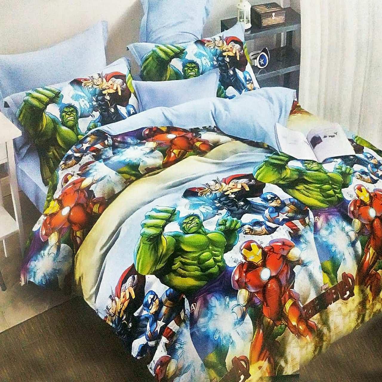 Семейное постельное белье-Супер герои