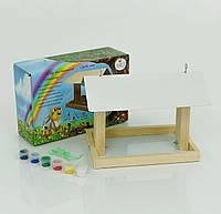 51010 Кормушка для птиц тм Мася 25*16*18 см, в коробке