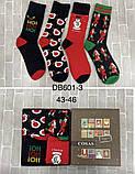 Новогодний набор мужских носков 4 пары, фото 3