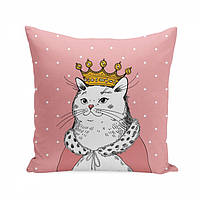 Подушка Кошка в короне