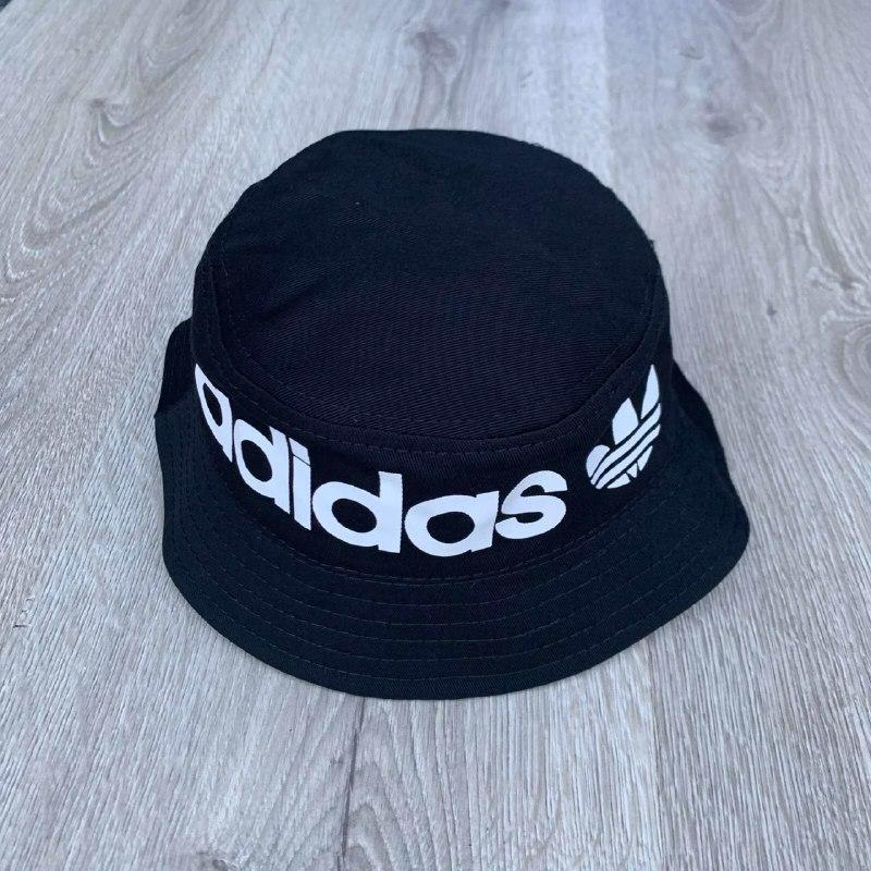 Панама унисекс Adidas реплика Черная