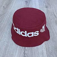 Панама унисекс Adidas реплика Бордовая