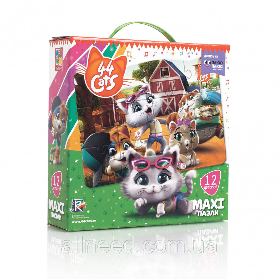 "Гра настільна ""Максі пазли. 44 Cats"" VT1722-01"