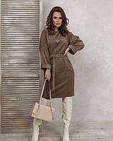 Платья ISSA PLUS SA-63 S светло-коричневый