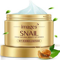 Пилинг скатка для лица с муцином улитки IMAGES Snail From Natural Beauty of Woman (140г)