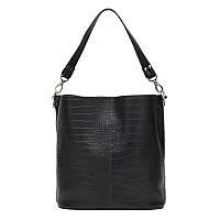 Женская кожаная сумка Ricco Grande 1l972rep-black