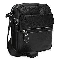 Мужская кожаная сумка Keizer K11812-black