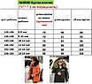 Куртка зимняя детская капюшон с мехом плащевка+силикон 128 134 140 146 152 158 164, фото 5