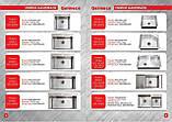 Кухонная мойка на две чаши Germece Handmade 8245/230 с подставкой для ножей 3.0/1.2 мм, фото 5