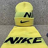 "Набор (шапка+баф)  разные цвета  ""Nike"", фото 2"