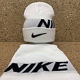 "Набор (шапка+баф)  разные цвета  ""Nike"", фото 3"
