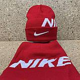 "Набор (шапка+баф)  разные цвета  ""Nike"", фото 6"