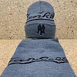 "Набор (шапка+баф)  разные цвета  ""Yankee "", фото 5"
