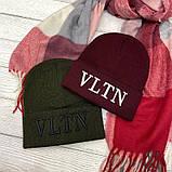 """Шапка разные  цвета  """"Valentino"""", фото 2"""