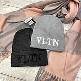 """Шапка разные  цвета  """"Valentino"""", фото 4"""