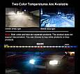 Светодиодные LED лампы в фары автомобиля H3, Светодиодная лед лампа COB 6000K 8-48V, LED лампы головного света, фото 6