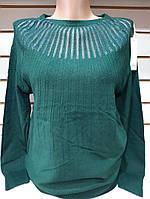 Кофточка кашемировая женская (ПОШТУЧНО) В РАСЦВЕТКАХ, фото 1
