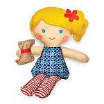 Набір для творчості 4M Шиття Лялька з цуценям (00-02767), фото 3