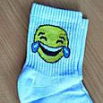 Шкарпетки смайли зі сльозами розмір 36-42, фото 6